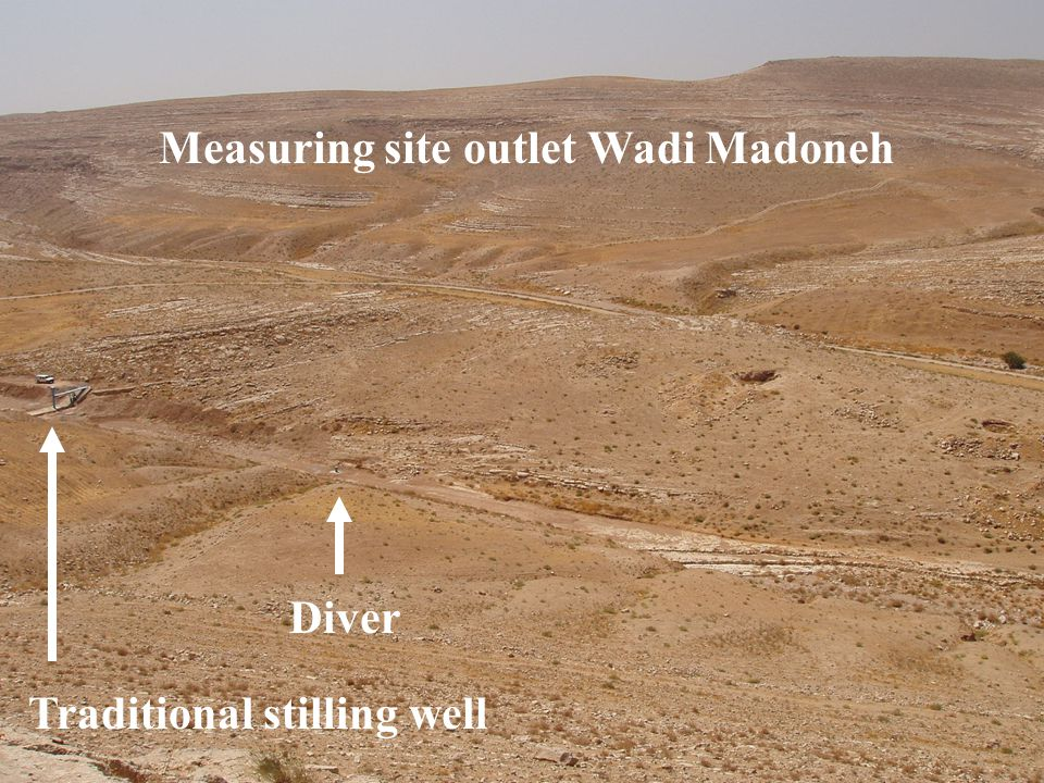 Measuring site outlet Wadi Madoneh