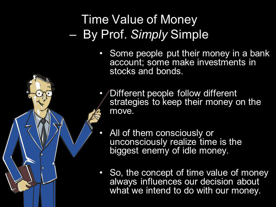 Time Value of Money – By Prof. Simply Simple
