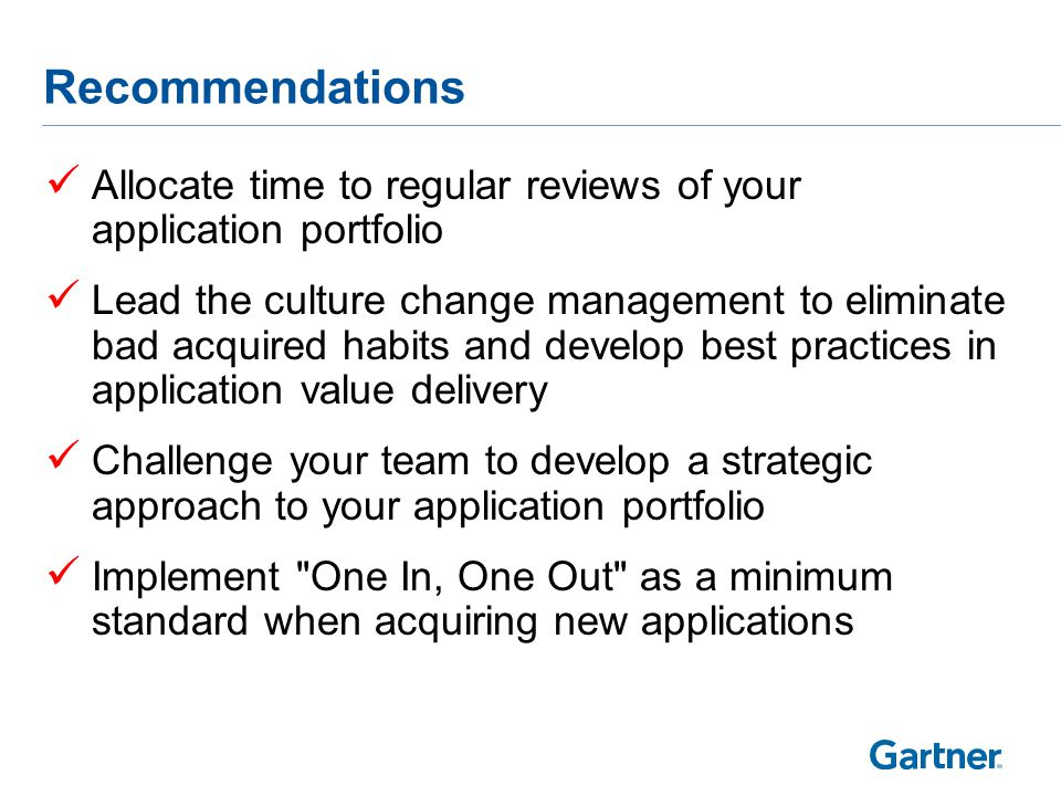 Related Gartner Research