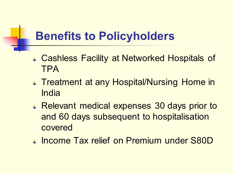Benefits to Policyholders