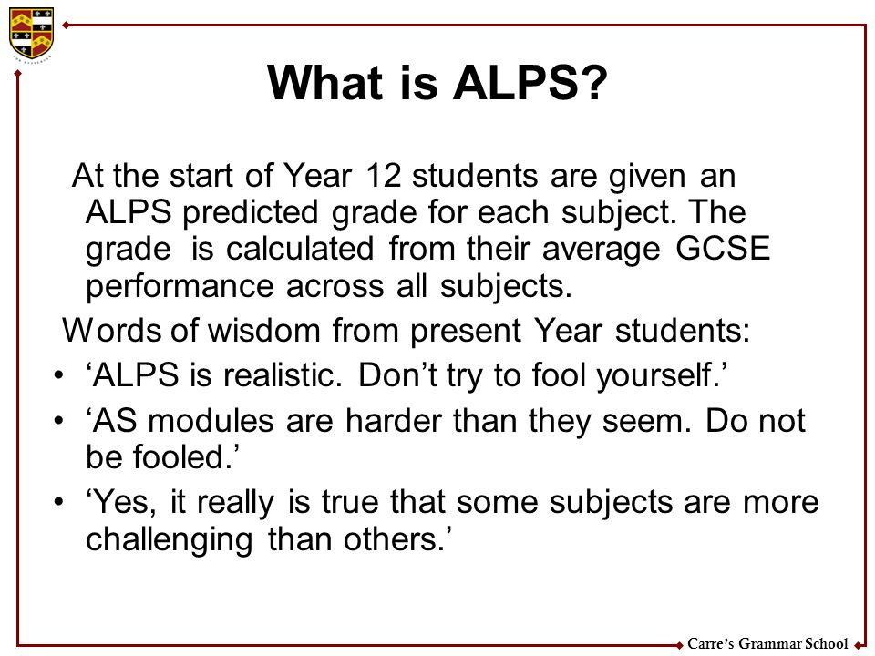 What is ALPS