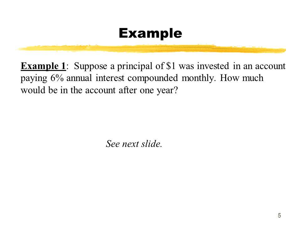 MAT 103 SPRING 2009 Example.