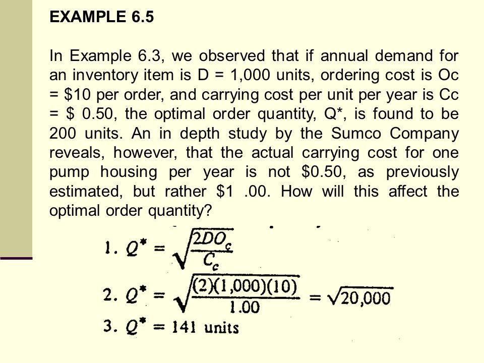 EXAMPLE 6.5