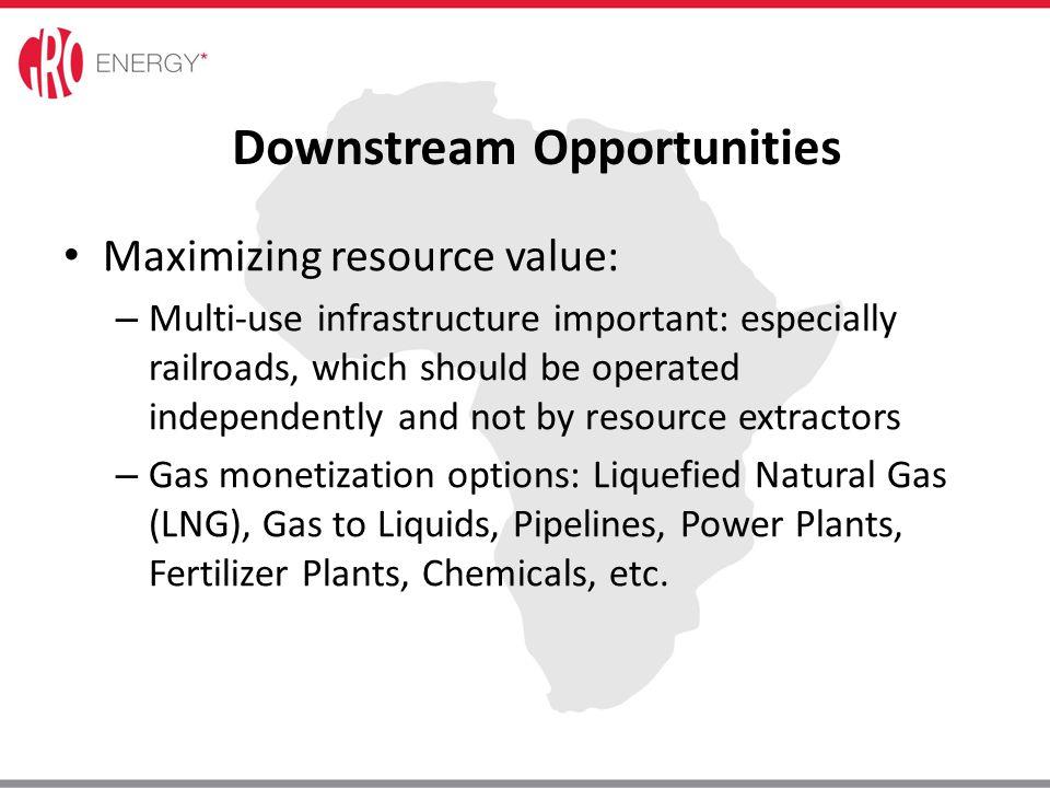 Downstream Opportunities
