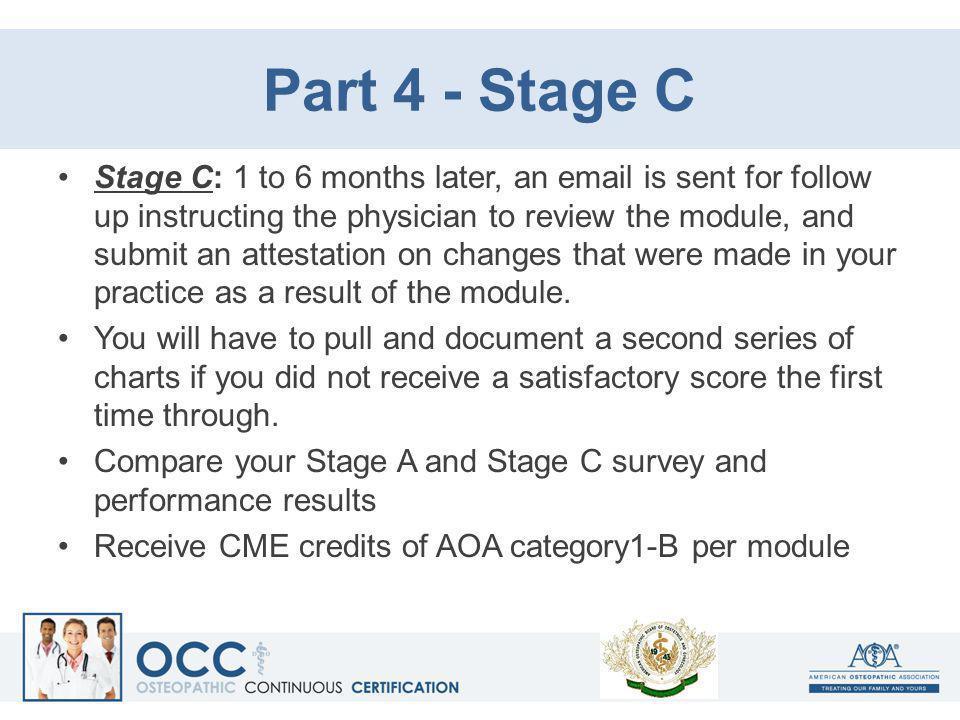 Part 4 - Stage C
