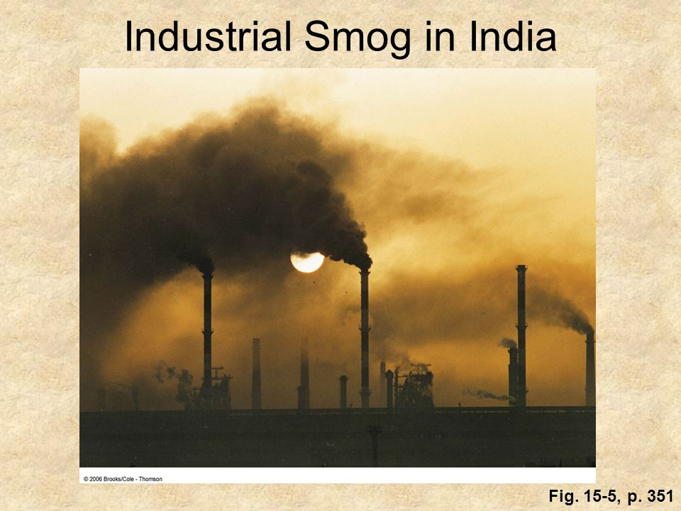 Industrial Smog in India