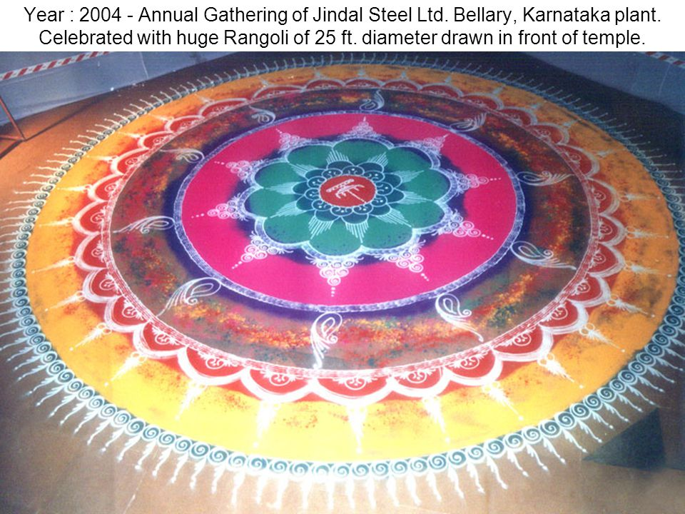 Year : 2004 - Annual Gathering of Jindal Steel Ltd