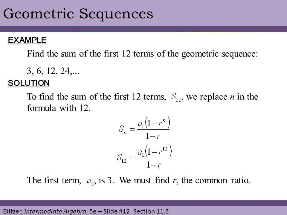 Geometric Sequences And Series  Ppt Video Online Download