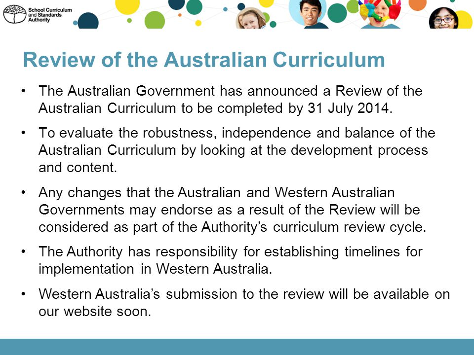 Review of the Australian Curriculum