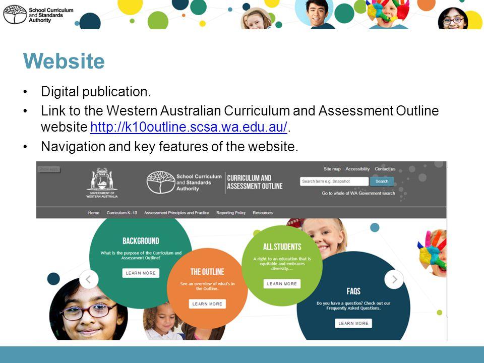 Website Digital publication.