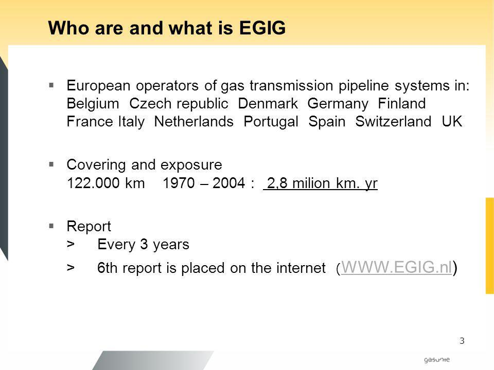 Who are and what is EGIG