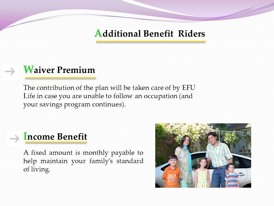 Additional Benefit Riders