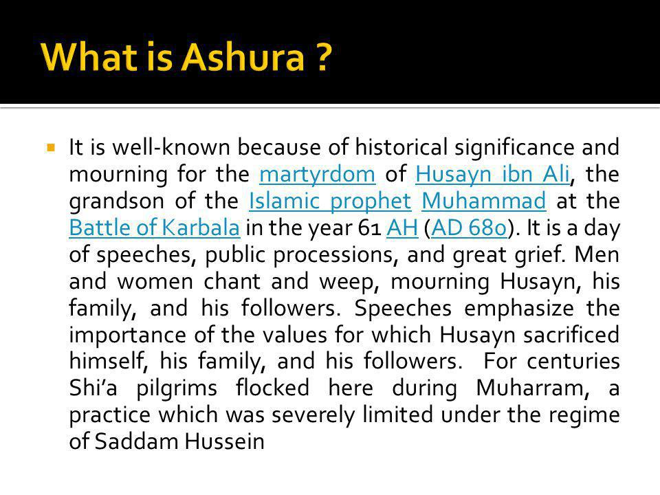 What is Ashura
