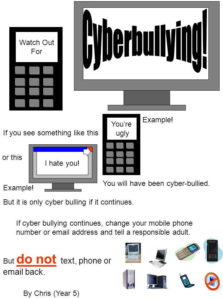 Cyberbullying! Watch Out For Example! You're ugly