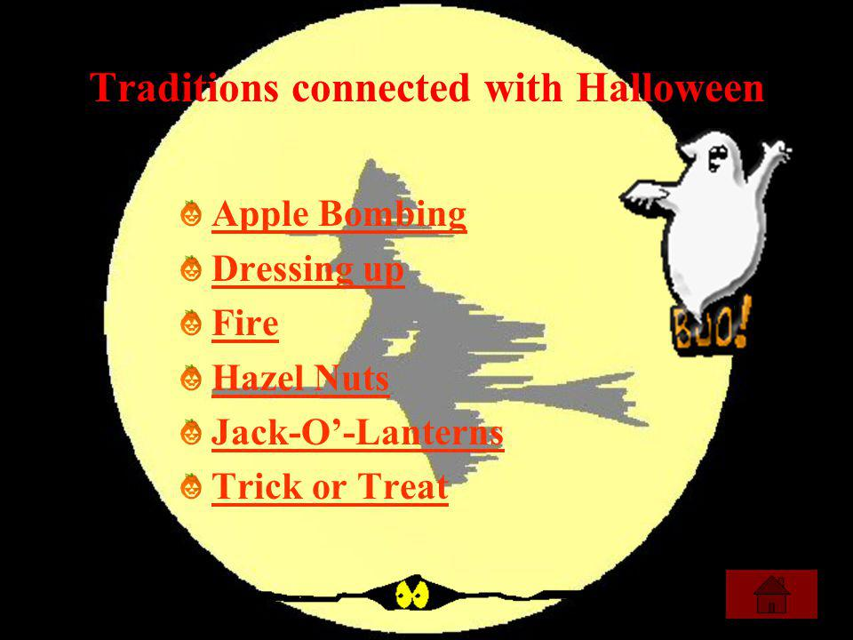 Traditions connected with Halloween