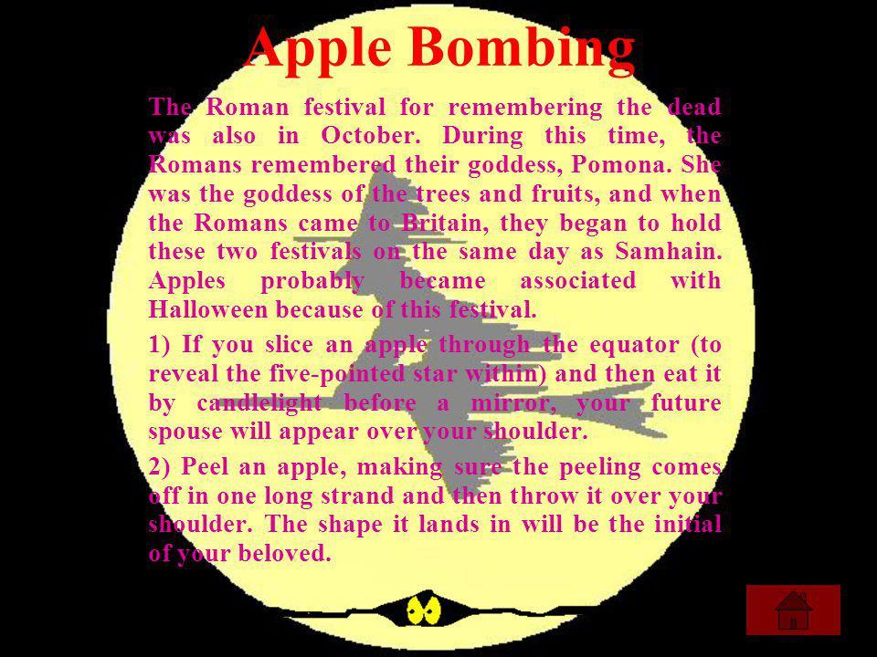 Apple Bombing