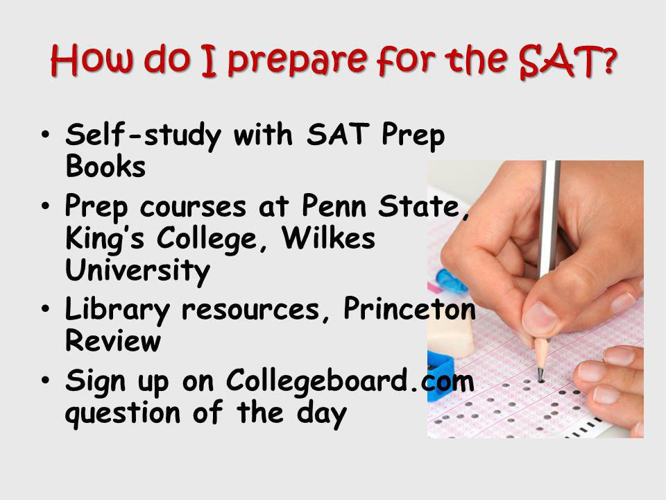 How do I prepare for the SAT