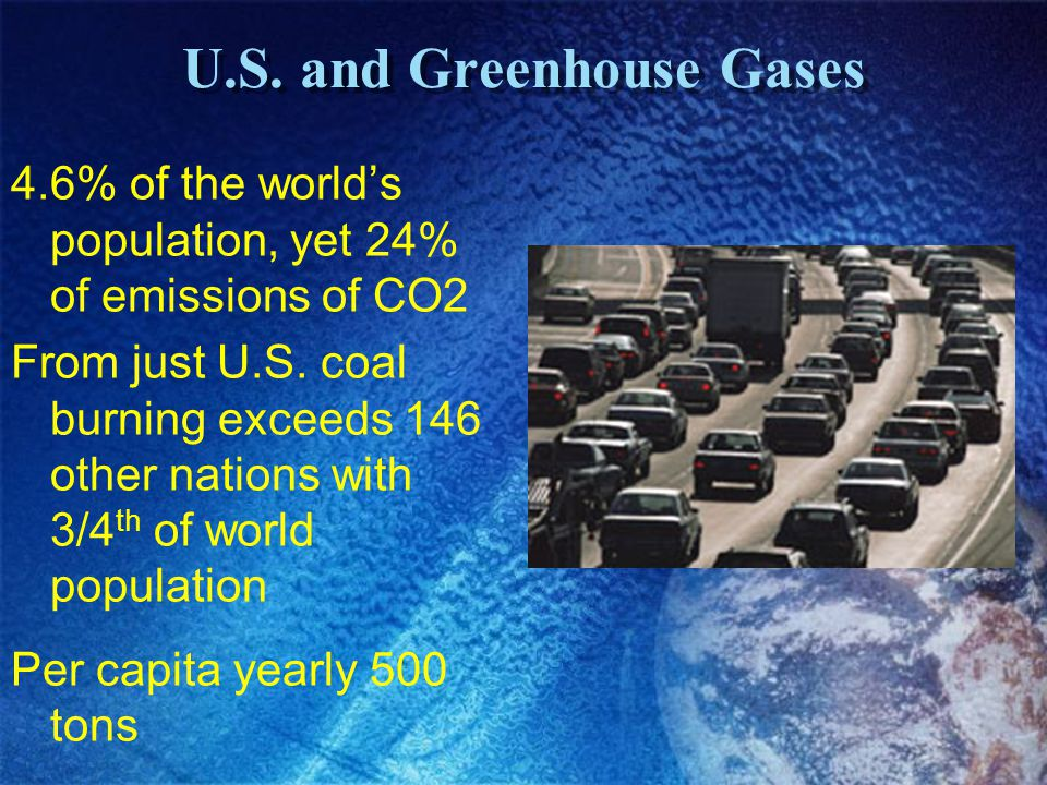 U.S. and Greenhouse Gases