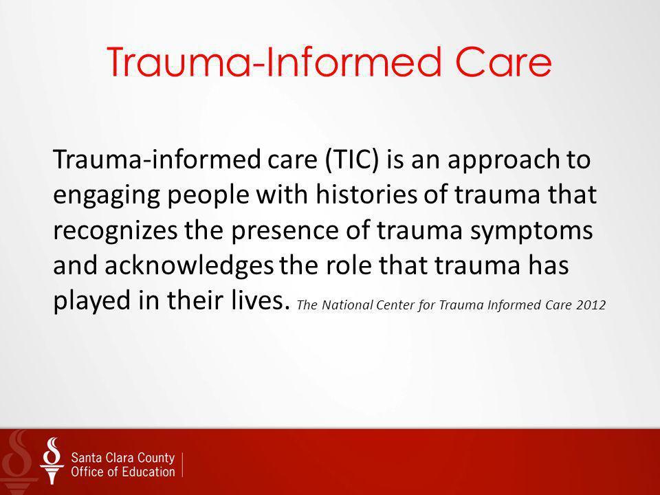 Trauma-Informed Care