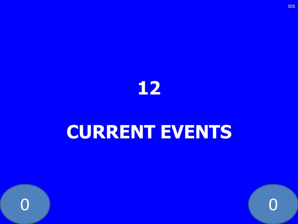 12 CURRENT EVENTS