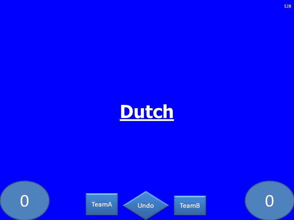 Dutch GE-1283-LAW TeamA TeamB Undo