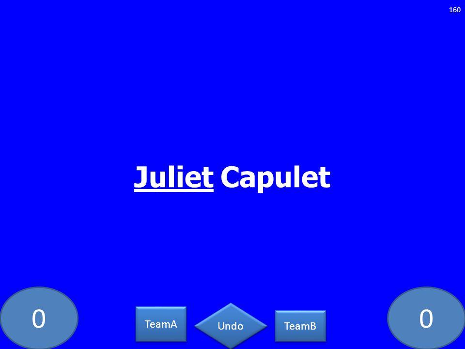 Juliet Capulet PC-5462-LAW TeamA TeamB Undo
