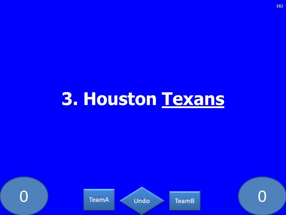 3. Houston Texans GE-235-LAW TeamA TeamB Undo