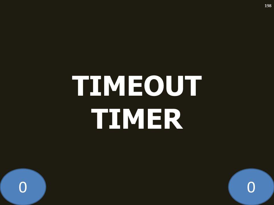 TIMEOUT TIMER