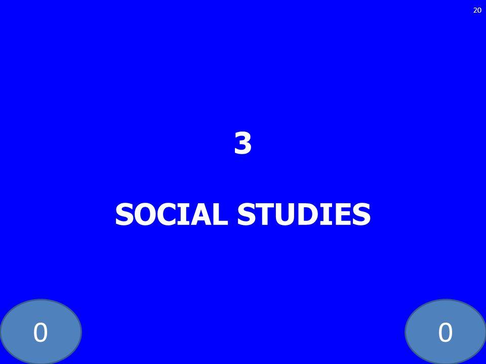 3 SOCIAL STUDIES