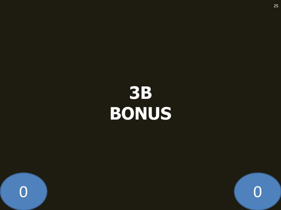 3B BONUS