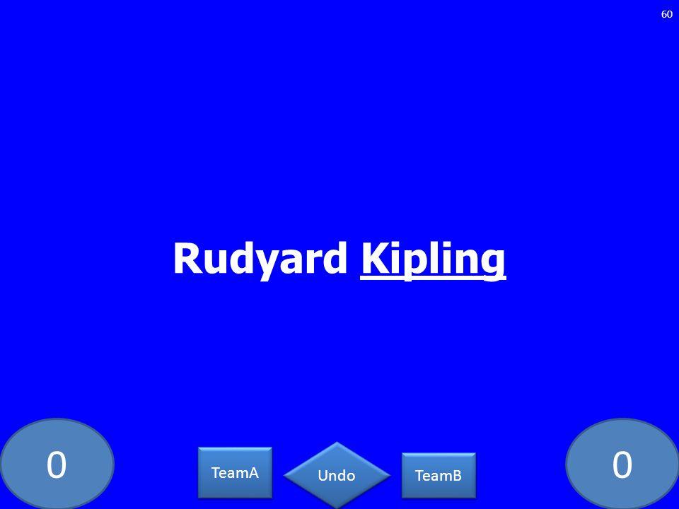 Rudyard Kipling GE-2093-LAW TeamA TeamB Undo