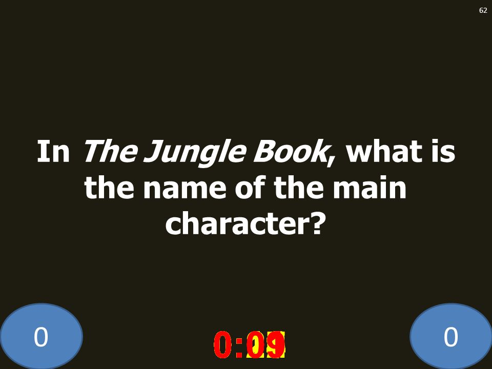 In The Jungle Book, what is the name of the main character
