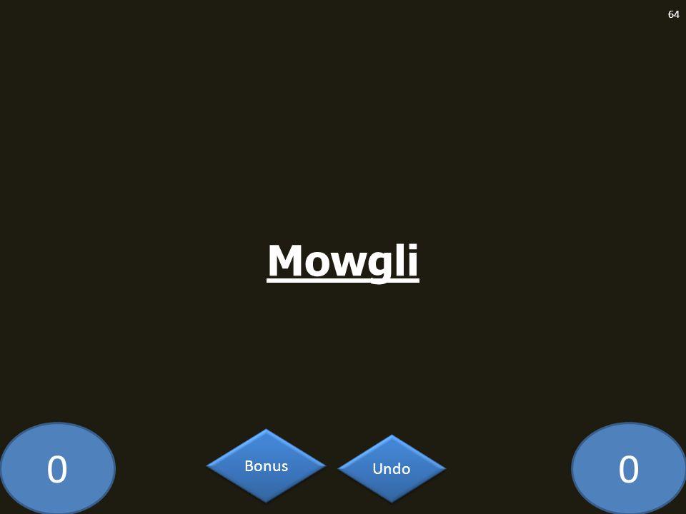 Mowgli GE-2093-LAW Undo Bonus
