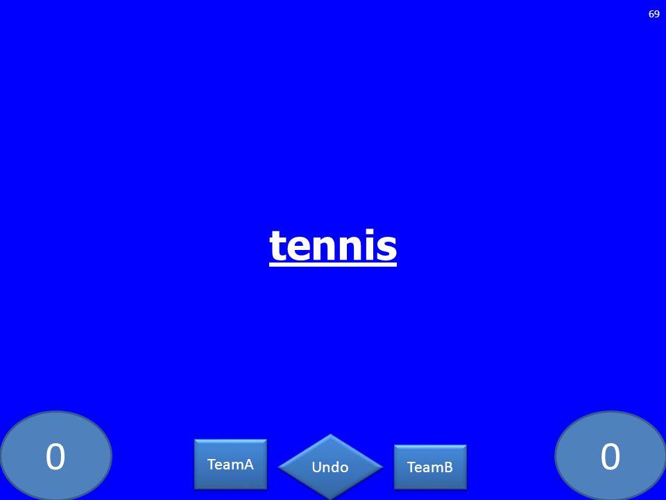 tennis MA-609-LAW TeamA TeamB Undo