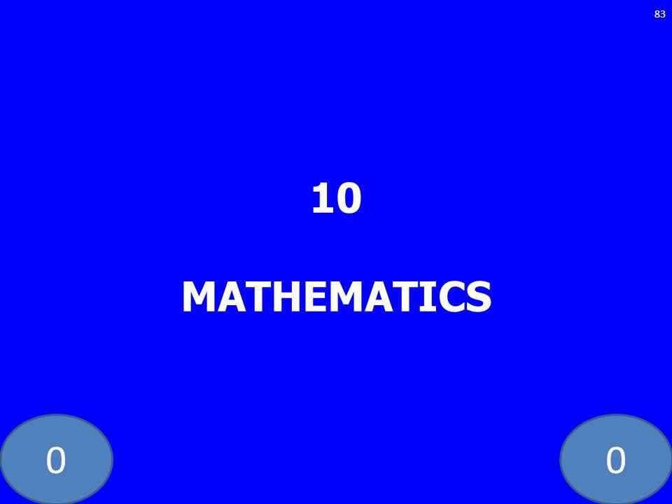 10 MATHEMATICS