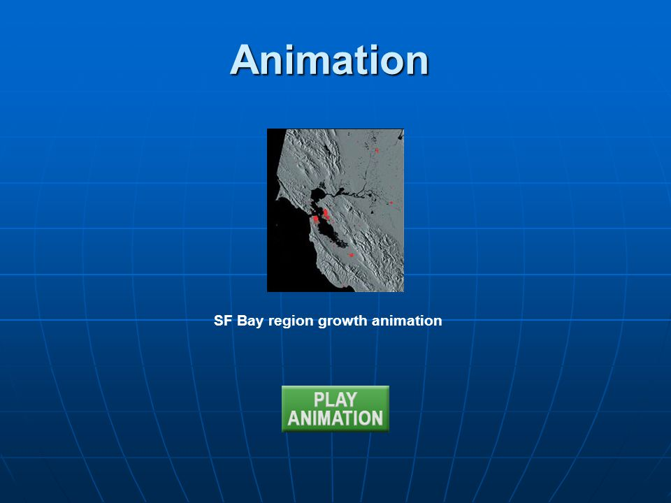 Animation SF Bay region growth animation