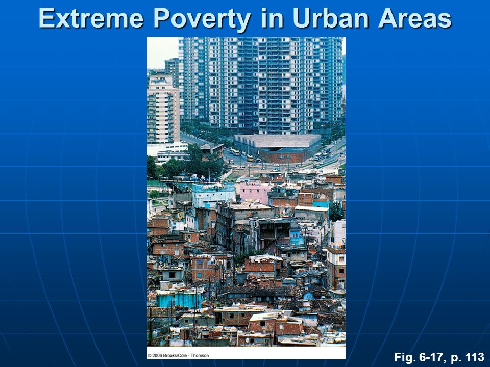 Extreme Poverty in Urban Areas