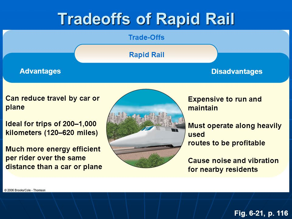 Tradeoffs of Rapid Rail