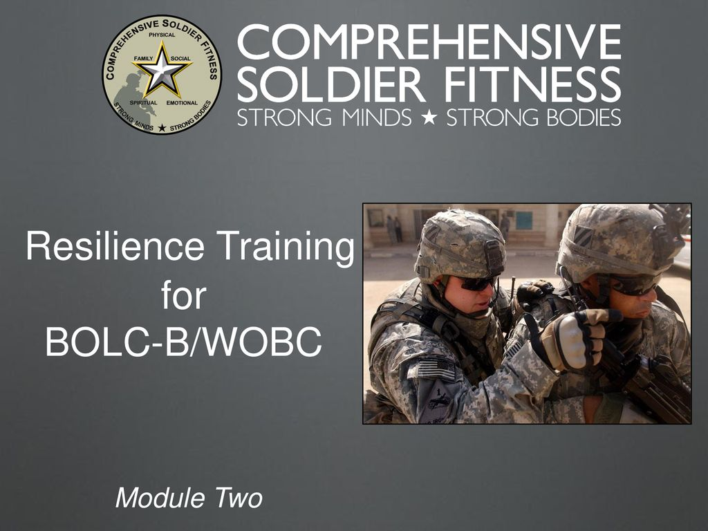 Resilience Training for