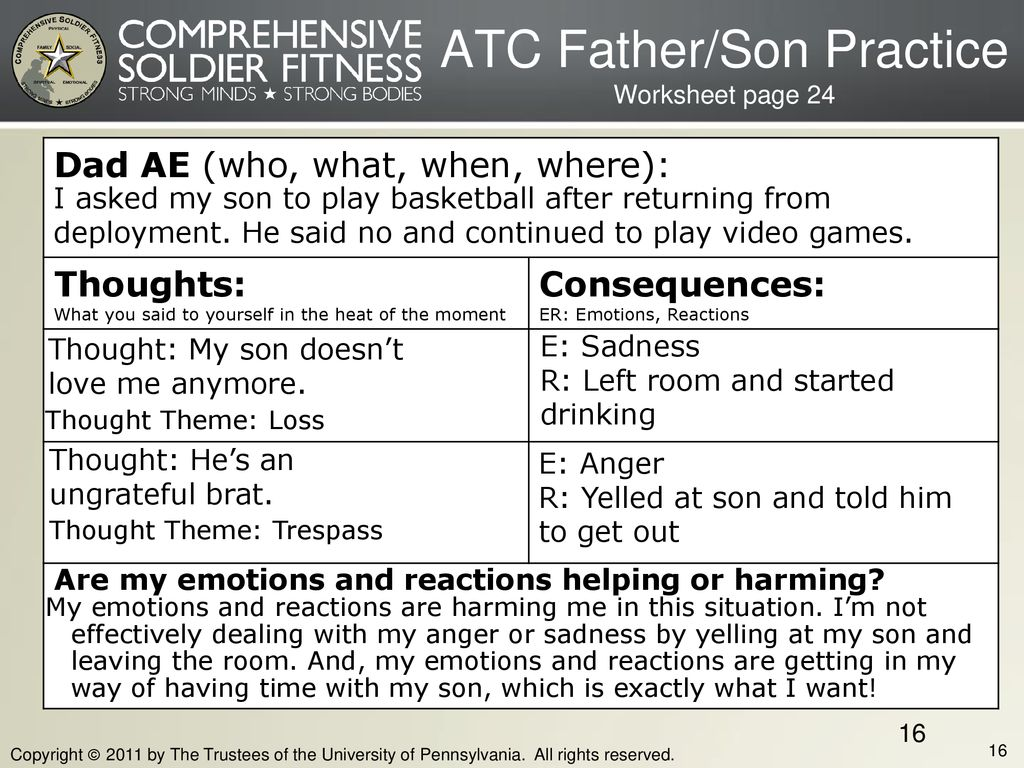 ATC Father/Son Practice Worksheet page 24
