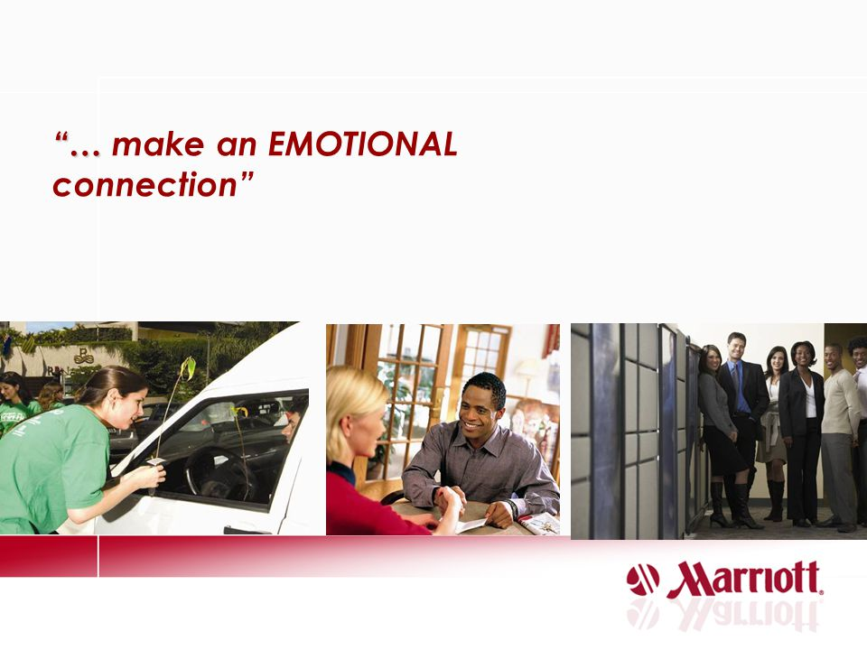 … make an EMOTIONAL connection