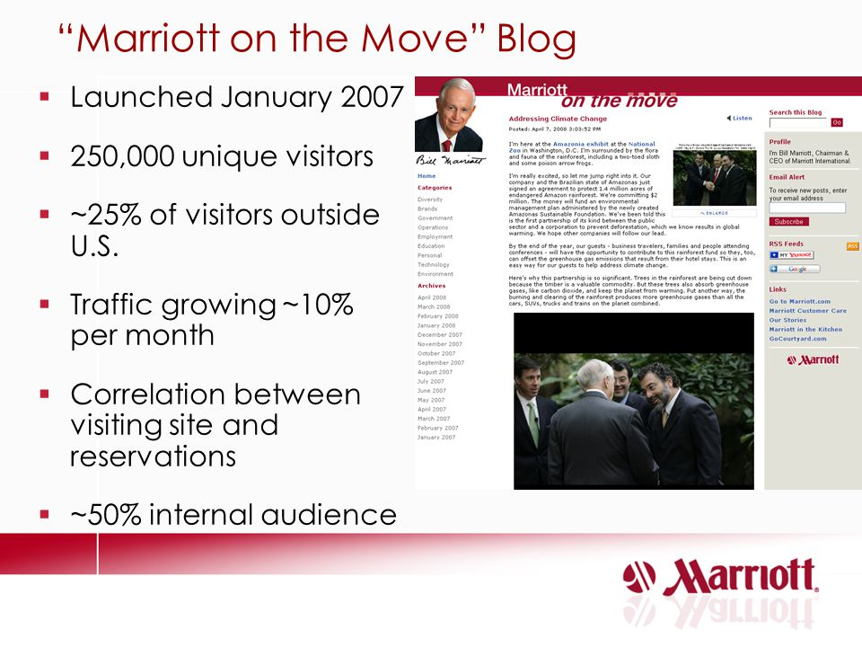 Marriott on the Move Blog