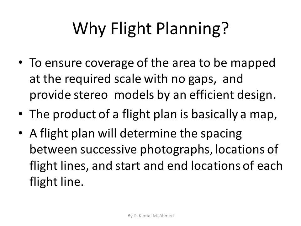 Why Flight Planning