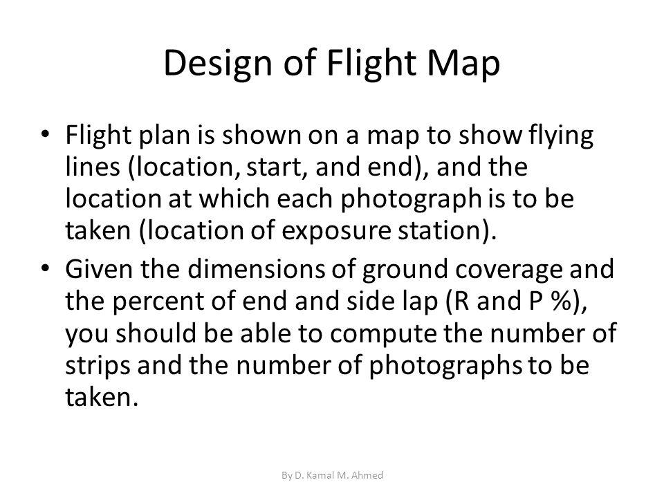 Design of Flight Map