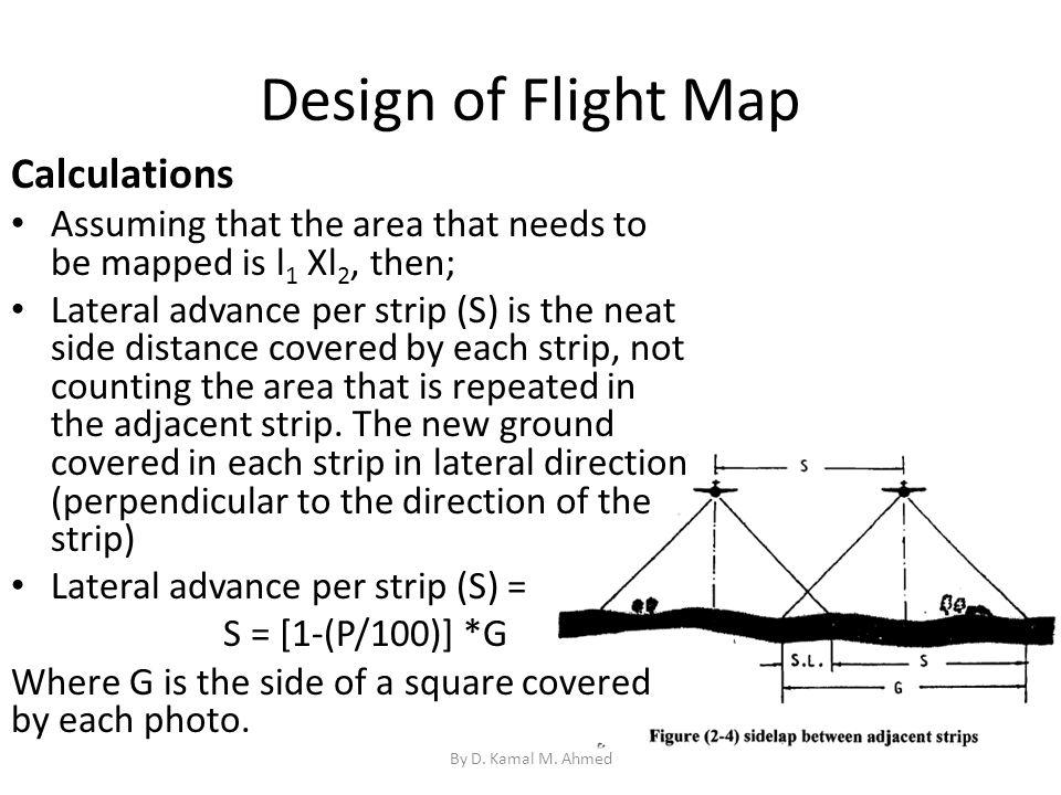 Design of Flight Map Calculations
