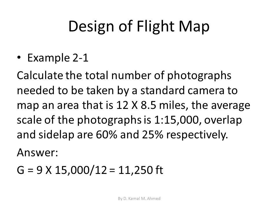 Design of Flight Map Example 2-1