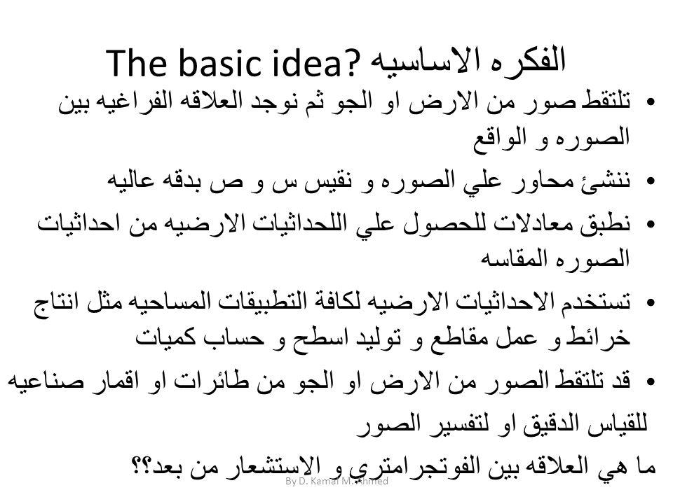 The basic idea الفكره الاساسيه