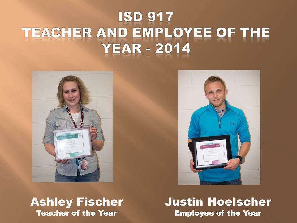 ISD 917 TEACHER AND EMPLOYEE OF THE YEAR - 2014