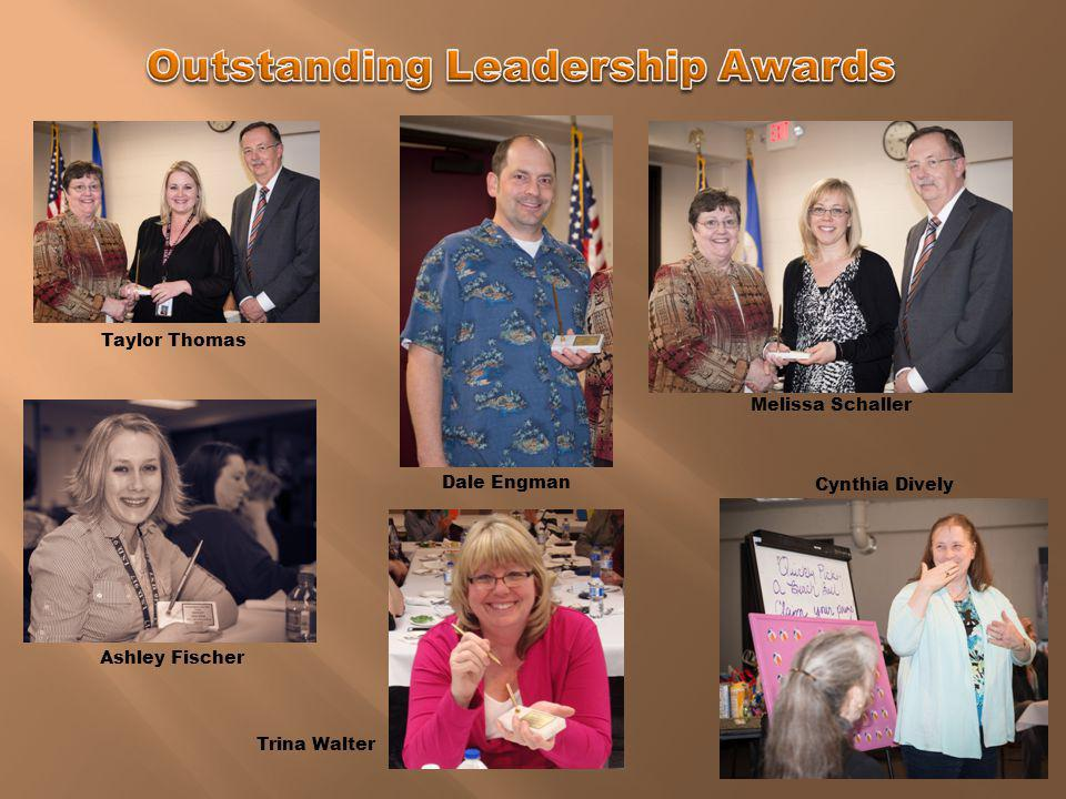 Outstanding Leadership Awards