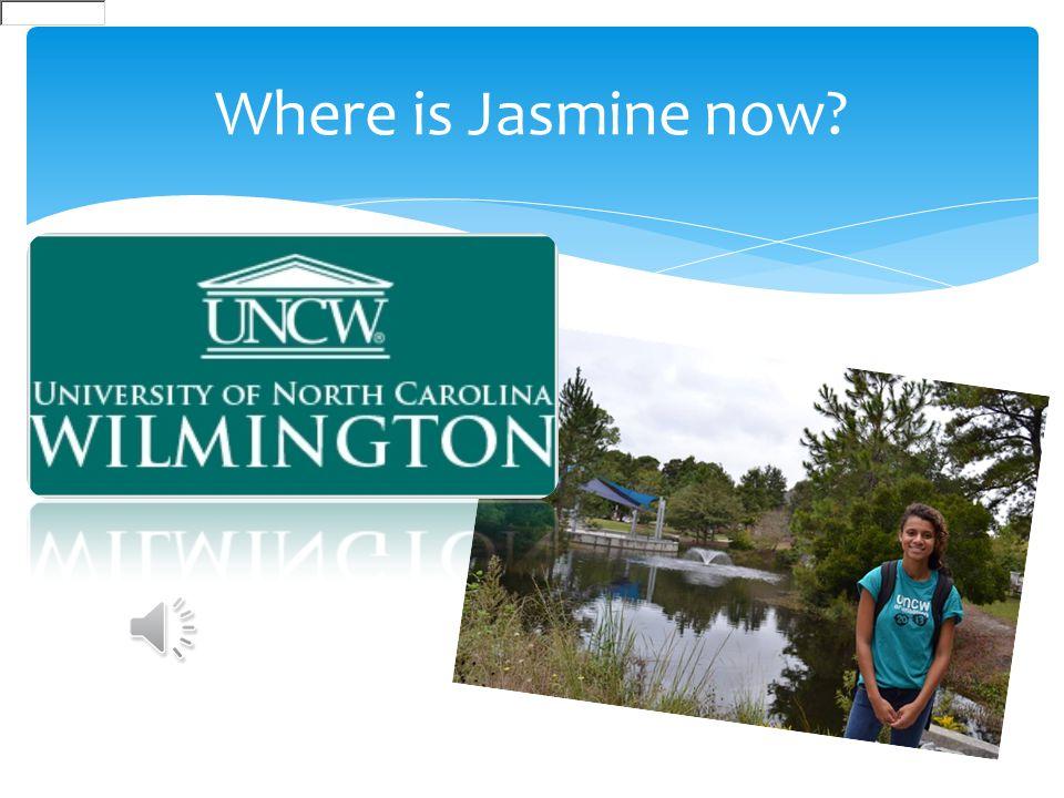 Where is Jasmine now